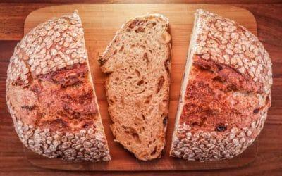 Whole Wheat Bread w/ Hazelnuts & Currants | Old Dough Recipe